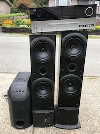 Black and gray home theater system Burnaby, V3J 0B4