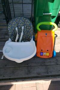 Baby seat and walker