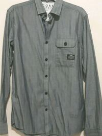 Jack & Jones Silver Button Up Long Sleeve Vancouver, V5X 1W1