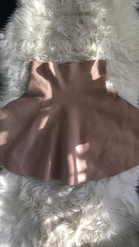 Cream colored skirt size small