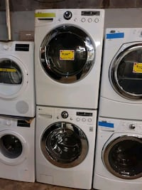LG front load washer and dryer set working perfect Baltimore