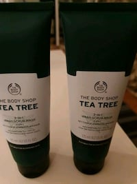 3in1 Body Shop Tea Tree Wash,Scrub,Mask  Majorstuen, 0366