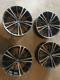 "17"" rims came off a scion. Looking for $350 obo Hamilton"
