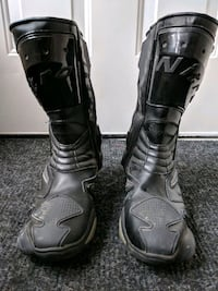 Motorcycle Riding Boots size 8
