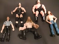Wwe ring and figures  East Northport