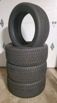 Set of 245/45ZR18 Continental Tires Tires Vancouver, 98665