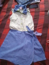 toddler's blue and white dress Dehradun, 248121