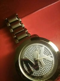 round silver-colored Michael Kors analog watch with link bracelet Fort Myers, 33905