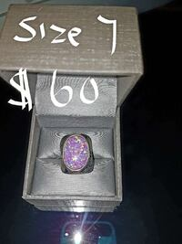 silver and purple ring Conception Bay South, A1W 4C7