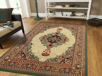 Green Traditional Persian Area Rug 8x11 New Baltimore, 21229