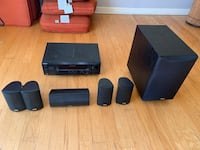 Sony Receiver and Digital Signal Processor with Full Surround Sound System Fort Washington, 20744