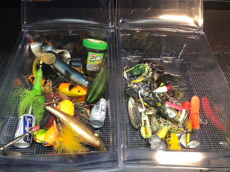 Assortment of Lures  0