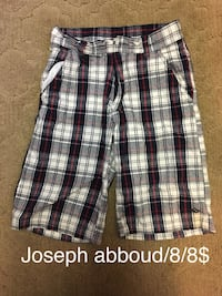 white, black, and gray plaid shorts Chillicothe, 45601