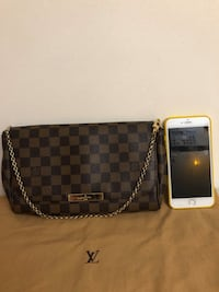 Louis Vuitton Damier Ebene Favorite mm Laurel