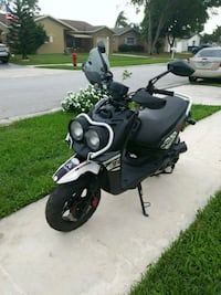 black and white motor scooter Boca Raton, 33433