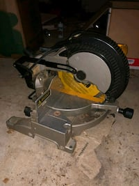 Dewalt DW703 compound miter saw Arlington