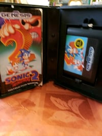 2 GENESIS GAME SONIC THE HEDGEHOG 2. Woodbridge Township, 08863