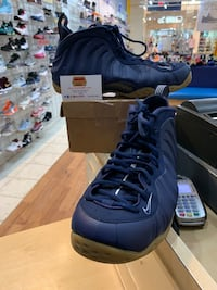 Nike Foamposite One Midnight Navy Size 13 Silver Spring, 20902