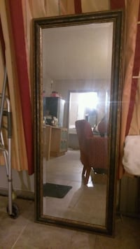 '4''7 tall x '1''10 wide beveled mirror in frame  Orlando, 32805