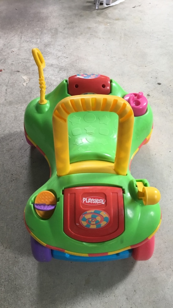 Playskool convertible ride-on/walker