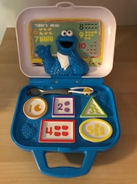 Sesame Street Cookie Monster Counting Food Kitchen Playskool Electronic-Talks/Sings Baltimore, 21236