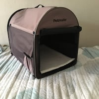 black and gray pet carrier Burlingame, 94010