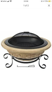 NEW Sealed in box! Wood fire pit