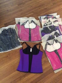 Get Summer Ready! Assorted colored waist trainers 3 hook latex vest style Los Angeles, 91311