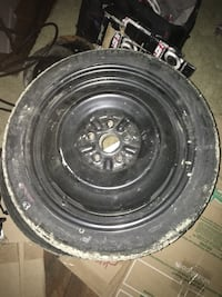 black bullet hole vehicle wheel and tire Alexandria, 22304