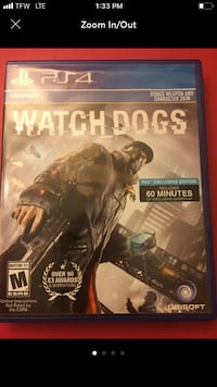 Watch Dogs PS4 Game  Marion, 43302