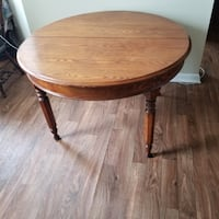 "Round Wood Dinning Table 46"" Diameter - 20  Rochester"