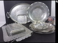 stainless steel bowl and plate Montréal, H4L 3C2