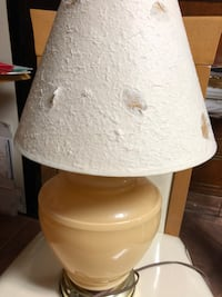 ATTRACTIVE BISQUE TABLE COLORED LAMP New York, 10461