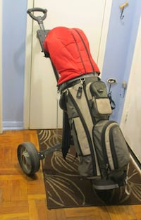 Golf clubs and electronic putter 542 km