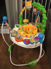 baby's multicolored Fisher-Price jumperoo Richmond Hill, L4C 6Z9