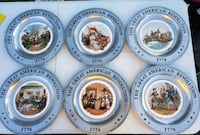 The Great American revolution collectible plates  Capitol Heights, 20743