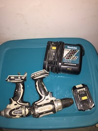 black and gray Makita cordless impact wrench Capitol Heights, 20743