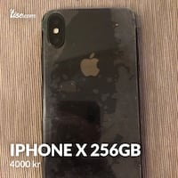Iphone X 256gb Oslo, 1162