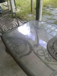 Glass Table Set