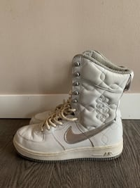 RARE anime airforce 1 high tops