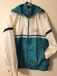 White and blue zip-up jacket Las Vegas, 89141