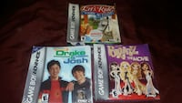 three assorted Gameboy Advance game cases Lancaster, 93536