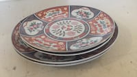 round white and multicolored floral ceramic plate Mississauga, L5N 2S8