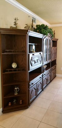 4 Piece Hand Carved Solid Wood Wall Unit West Palm Beach, 33401