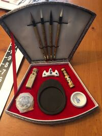 Antique Traditional CHINESE CALLIGRAPHY SET. Complete & unused Only $45/firm  Redlands, 92374