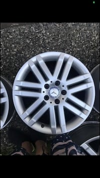 17 Rims  mercedes. 245/40/17 and 225/40/17 Surrey, V3R 6G9