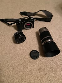 Sony A6000 Camera with Kit lens and 55mm-210mm lens Cincinnati, 45236