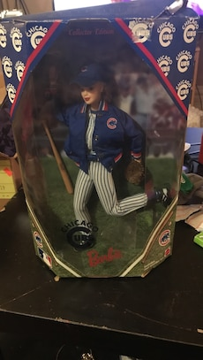 Barbie Chicago Cubs doll in box