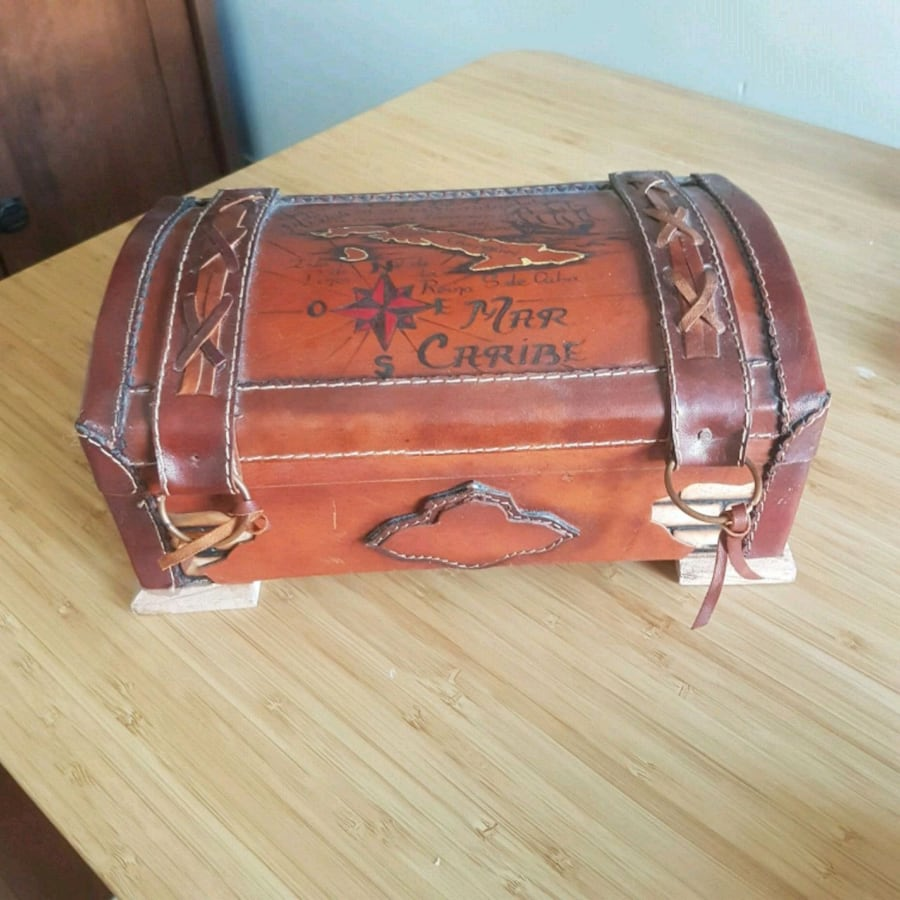 Handmade Storage Box from Cuba - Excellent gift