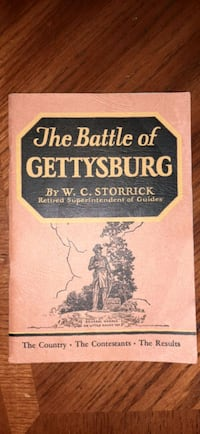 The Battle of Gettysburg  Guilford, 17202